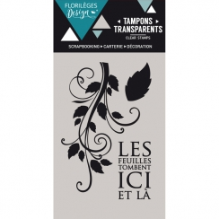 Tampons clear LES FEUILLES TOMBENT