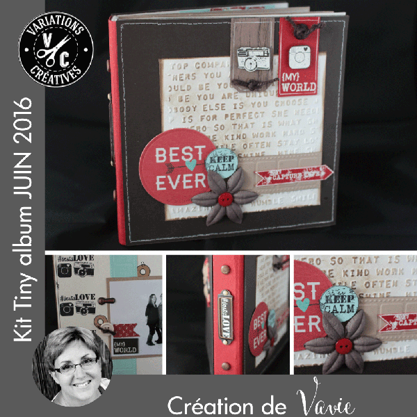 Kit Tiny Album JUIN 2016