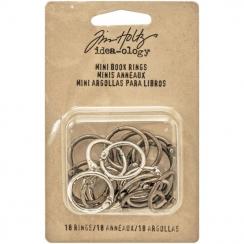 Minis anneaux par Tim Holtz. Scrapbooking et loisirs créatifs. Livraison rapide et cadeau dans chaque commande.