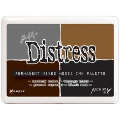 Parfait pour créer : Encre Distress Permanent Mixed Media Ink Palette par Ranger. Livraison rapide et cadeau dans chaque comm...