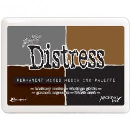 Encre Distress Permanent Mixed Media Ink Palette par Ranger. Scrapbooking et loisirs créatifs. Livraison rapide et cadeau dan...