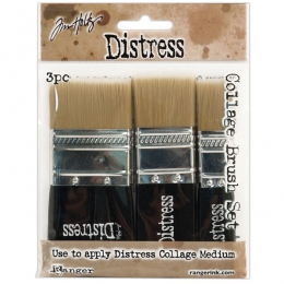 Set de 3 pinceaux Collage Brush