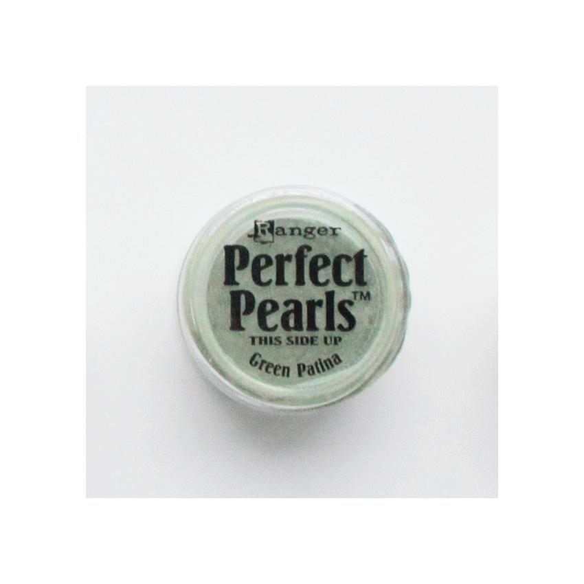 Poudre Perfect Pearl GREEN PATINA par Ranger. Scrapbooking et loisirs créatifs. Livraison rapide et cadeau dans chaque commande.