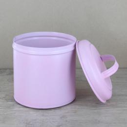 Boîte moyenne métal rose