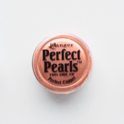Poudre Perfect Pearl PERFECT COPPER par Ranger. Scrapbooking et loisirs créatifs. Livraison rapide et cadeau dans chaque comm...