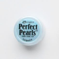 Poudre Perfect Pearl TURQUOISE par Ranger. Scrapbooking et loisirs créatifs. Livraison rapide et cadeau dans chaque commande.