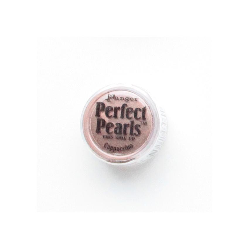 Poudre Perfect Pearl CAPPUCCINO par Ranger. Scrapbooking et loisirs créatifs. Livraison rapide et cadeau dans chaque commande.