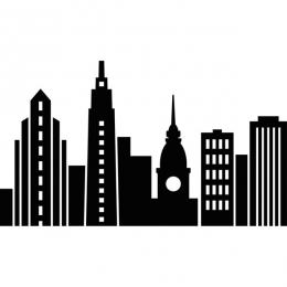 CITYSCAPE -EMBOSSING FOLDER