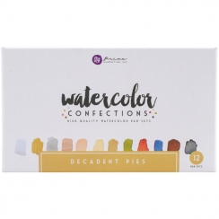 Aquarelles Watercolor Confections DECADENT PIES