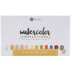 Aquarelles Watercolor Confections DECADENT PIES