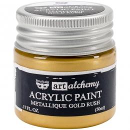 Peinture acrylique métallique Art Alchemy GOLD RUSH
