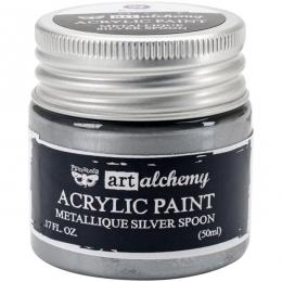 Peinture acrylique métallique Art Alchemy SILVER SPOON