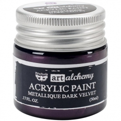 Peinture acrylique métallique Art Alchemy DARK VELVET