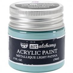 Parfait pour créer : Peinture acrylique métallique Art Alchemy LIGHT PATINA par Prima Marketing. Livraison rapide et cadeau d...