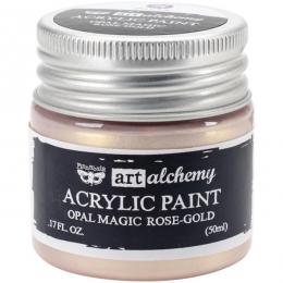 Peinture acrylique nacrée Art Alchemy ROSE GOLD par Prima Marketing. Scrapbooking et loisirs créatifs. Livraison rapide et ca...