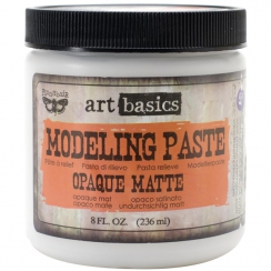 Pâte de texture MODELING PASTE par Prima Marketing. Scrapbooking et loisirs créatifs. Livraison rapide et cadeau dans chaque ...