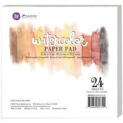 Papier aquarelle bloc 15 x 15 cm
