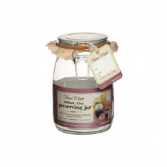 PROMO de -60% sur Bocal couvercle à rabat 1000ml Kitchen Crafts