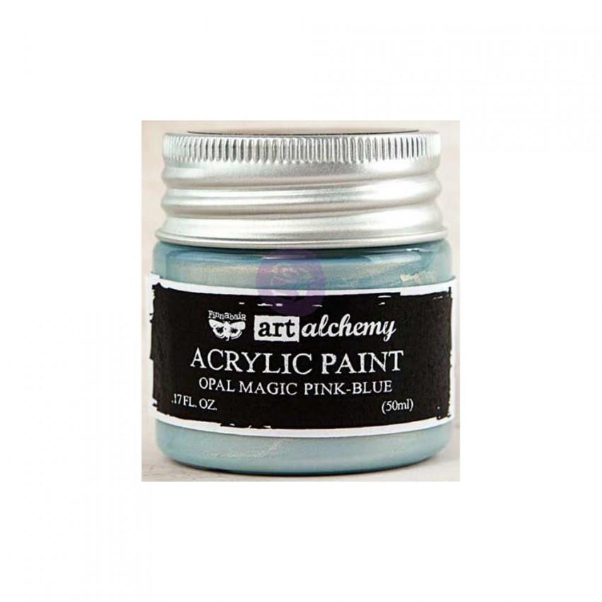 Peinture acrylique nacrée Art Alchemy PINK BLUE par Prima Marketing. Scrapbooking et loisirs créatifs. Livraison rapide et ca...