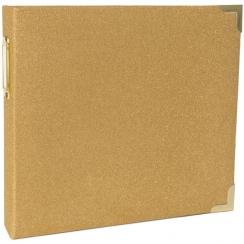 Album 20 x 20 cm GOLD GLITTER