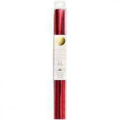 Pellicule métallisée Minc 30.5 cm RED