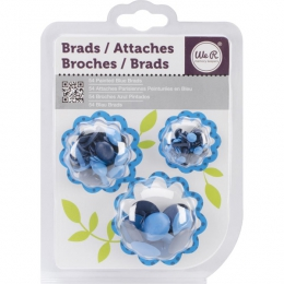 Brads PAINTED BLUE