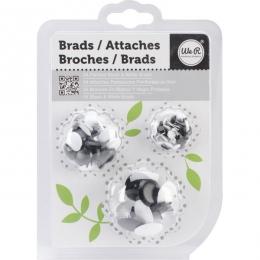 Brads PAINTED BLACK & WHITE