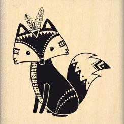 Tampon bois BOHO FOX