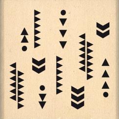 Tampon bois FINS MOTIFS par Florilèges Design. Scrapbooking et loisirs créatifs. Livraison rapide et cadeau dans chaque comma...