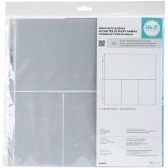 Pochettes 30.5 x 30.5 cm à 4 compartiments