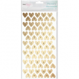 Chipboards or HEART FOIL