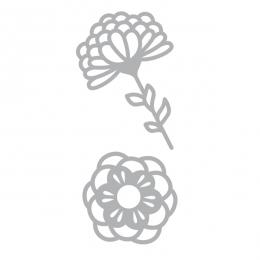 Outils de découpe Grafic Time 2 Fleurs