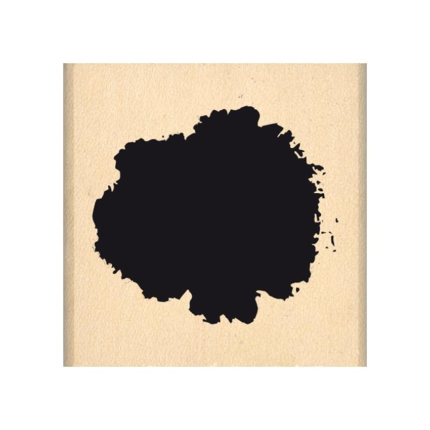 Tampon bois PETITE TACHE par Florilèges Design. Scrapbooking et loisirs créatifs. Livraison rapide et cadeau dans chaque comm...