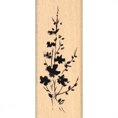 Tampon bois BOUQUET FONDU par Florilèges Design. Scrapbooking et loisirs créatifs. Livraison rapide et cadeau dans chaque com...