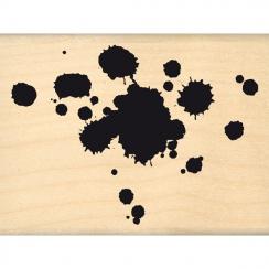 Tampon bois JOLIES GOUTTES par Florilèges Design. Scrapbooking et loisirs créatifs. Livraison rapide et cadeau dans chaque co...