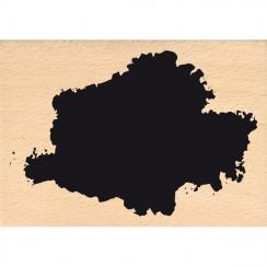 Tampon bois GRANDE TACHE par Florilèges Design. Scrapbooking et loisirs créatifs. Livraison rapide et cadeau dans chaque comm...