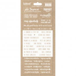 Etiquettes transparentes Crystal DYMO BLANC