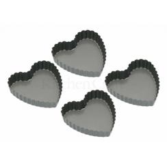 Mini-moules forme coeur cannelés