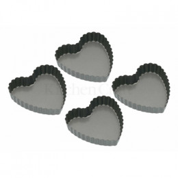 PROMO de -25% sur Mini-moules forme coeur cannelés Kitchen Crafts