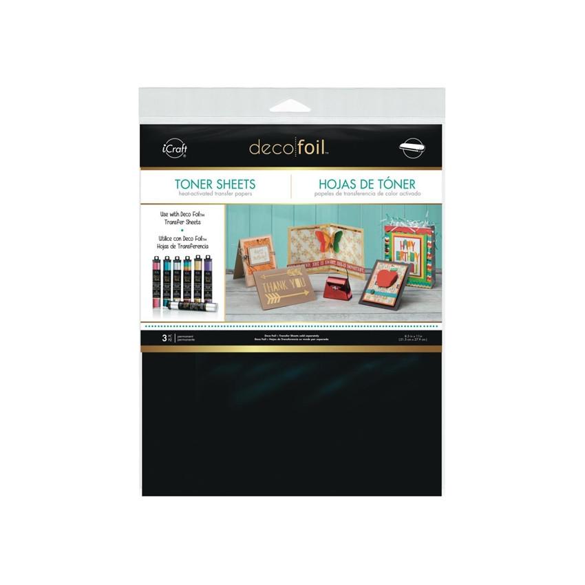Feuilles de toner DECO FOIL par Therm.o.web. Scrapbooking et loisirs créatifs. Livraison rapide et cadeau dans chaque commande.