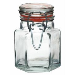 Mini bocal hexagonal