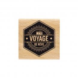 PROMO de  sur Tampon bois VOYAGE DE RÊVE Florilèges Design