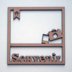Cadre 15 x 15 cm SOUVENIR par In Spirit. Scrapbooking et loisirs créatifs. Livraison rapide et cadeau dans chaque commande.