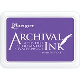 Encre Archival MAJESTIC VIOLET par Ranger. Scrapbooking et loisirs créatifs. Livraison rapide et cadeau dans chaque commande.