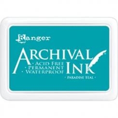 Encre Archival PARADISE TEAL par Ranger. Scrapbooking et loisirs créatifs. Livraison rapide et cadeau dans chaque commande.