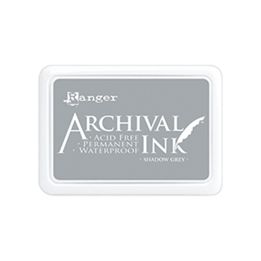 Encre Archival SHADOW GREY par Ranger. Scrapbooking et loisirs créatifs. Livraison rapide et cadeau dans chaque commande.