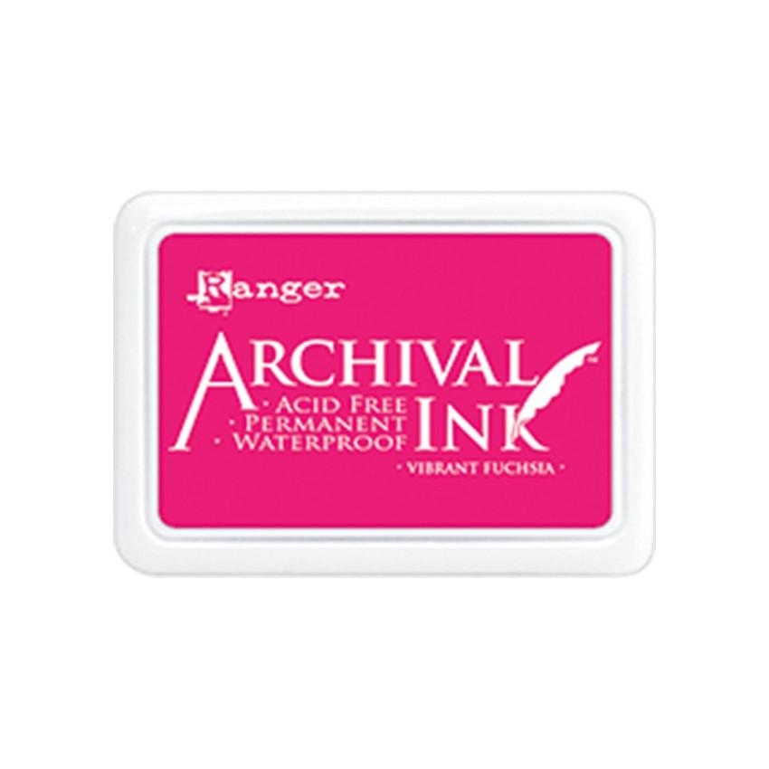 Encre Archival VIBRANT FUCHSIA par Ranger. Scrapbooking et loisirs créatifs. Livraison rapide et cadeau dans chaque commande.