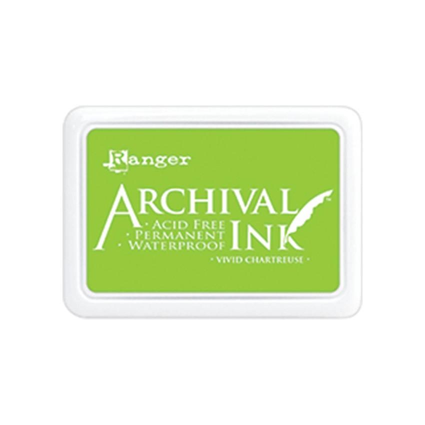 Encre Archival VIVID CHARTREUSE par Ranger. Scrapbooking et loisirs créatifs. Livraison rapide et cadeau dans chaque commande.