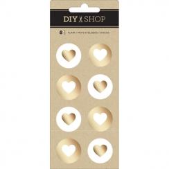 Badges DIY Shop 4 GOLD FOIL