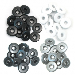 Wide Eyelets ALUMINIUM GREY